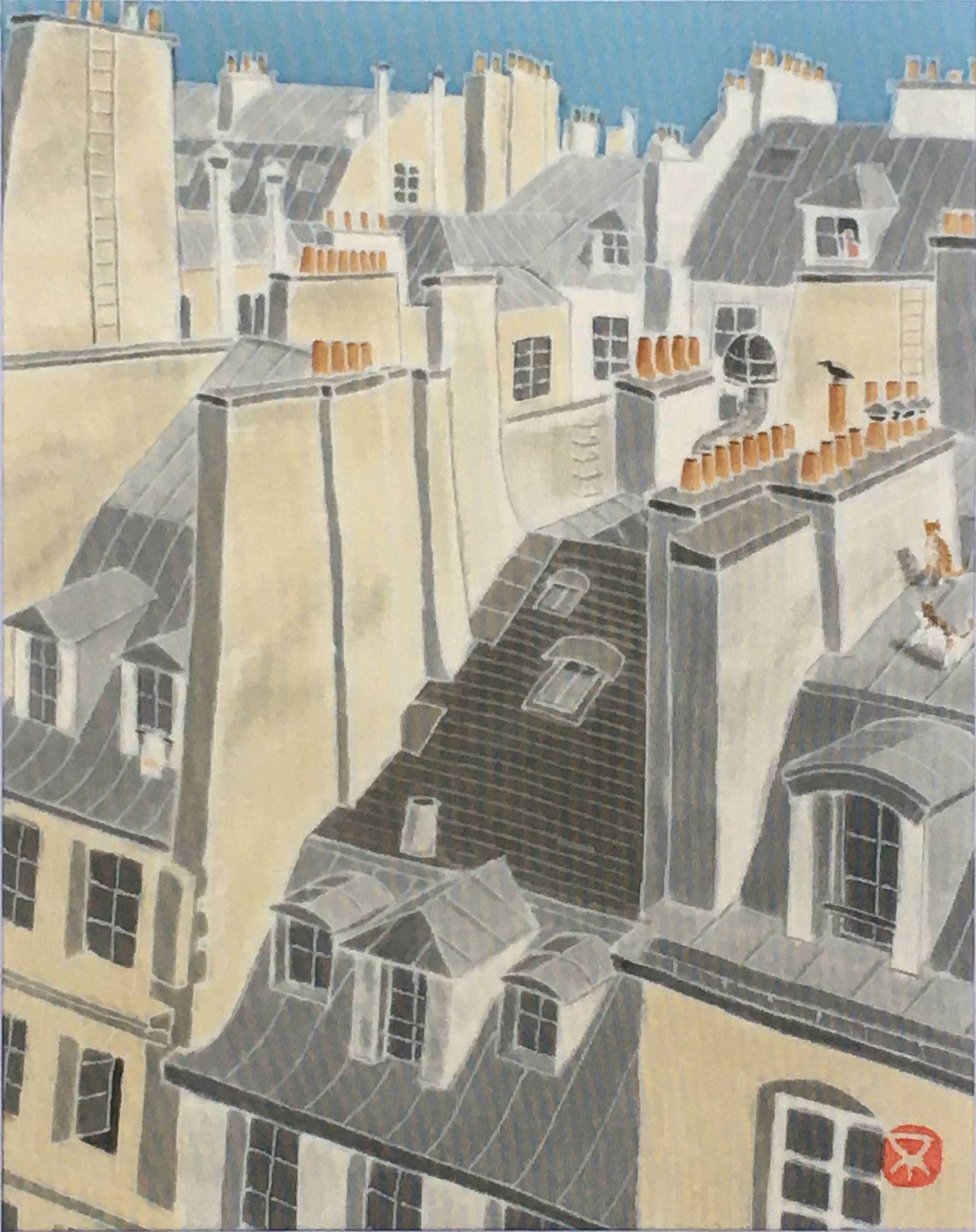 パリの屋根